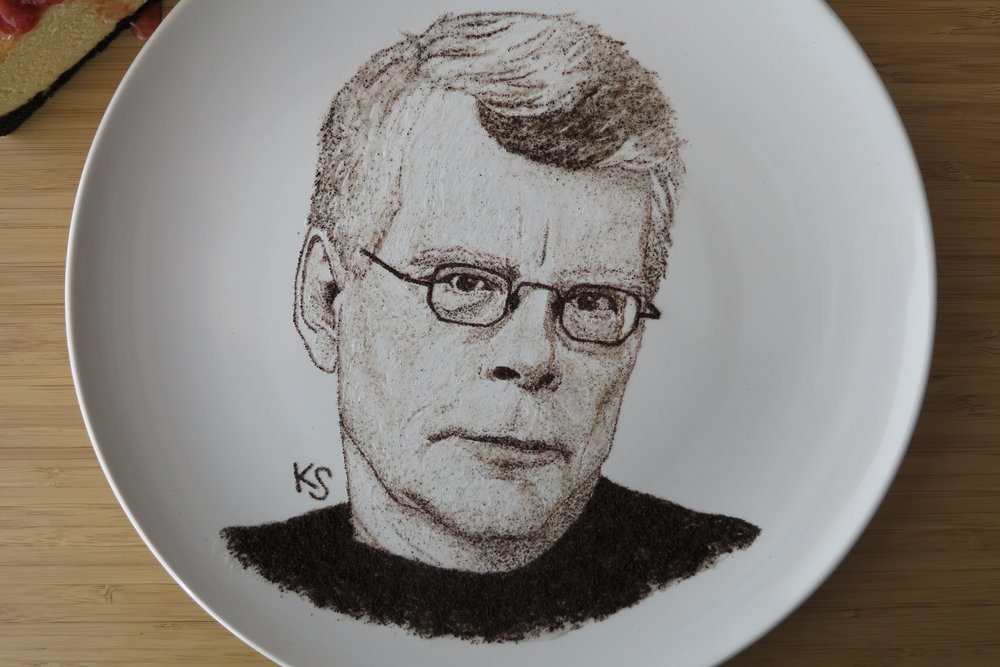 stephen king close up
