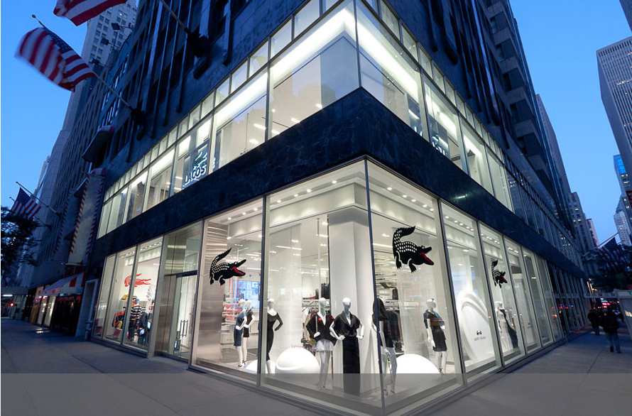 Project completed in 2011 in collaboration with Lacoste Store planning @ Design Republic. Photo credit Thaddeus Rombauer.