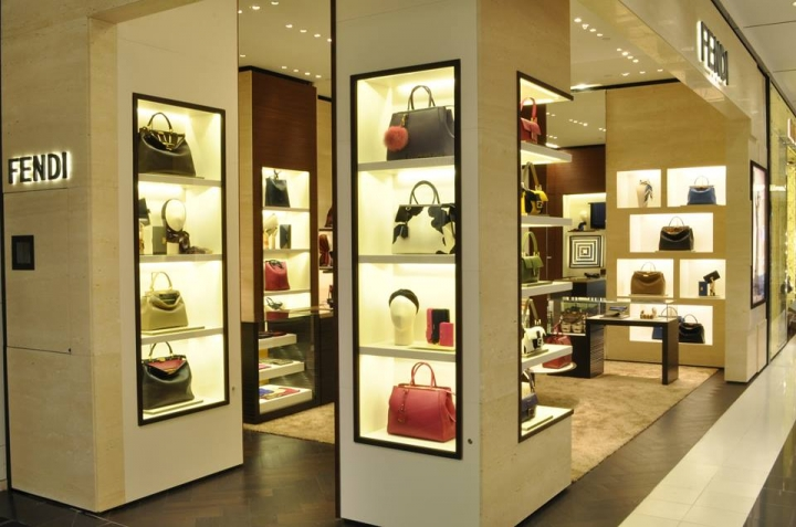 Fendi Bloomingdales NY in collaboration w Fendi Store Planning @ Design Republic