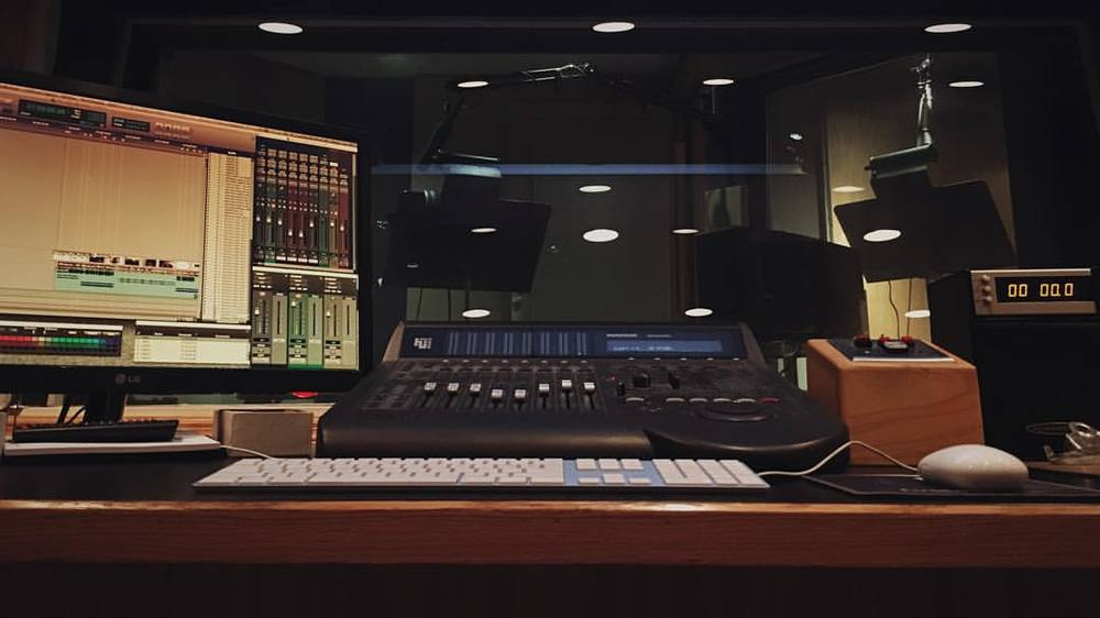 My studio at Audio Ruckus