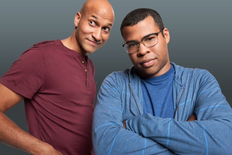 Keegan-Michael Key (left) and Jordan Peele (right)