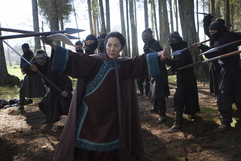 Michelle Yeoh stars in Netflix's CROUCHING TIGER, HIDDEN DRAGON: THE GREEN LEGEND. Photo credit: Rico Torres for Netflix