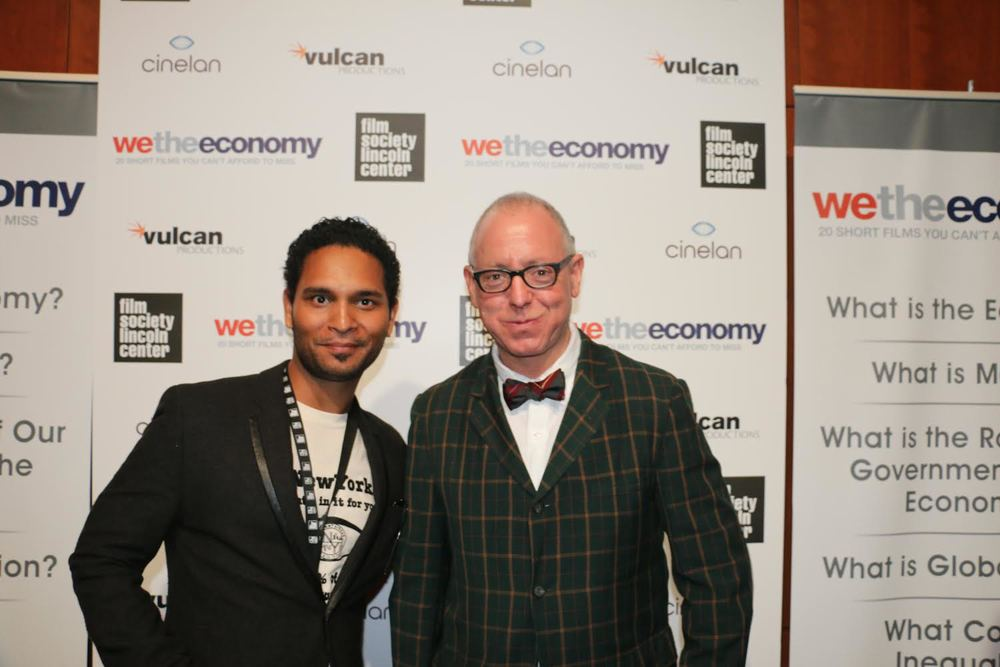 Art Shrian (L) with James Schamus (R)