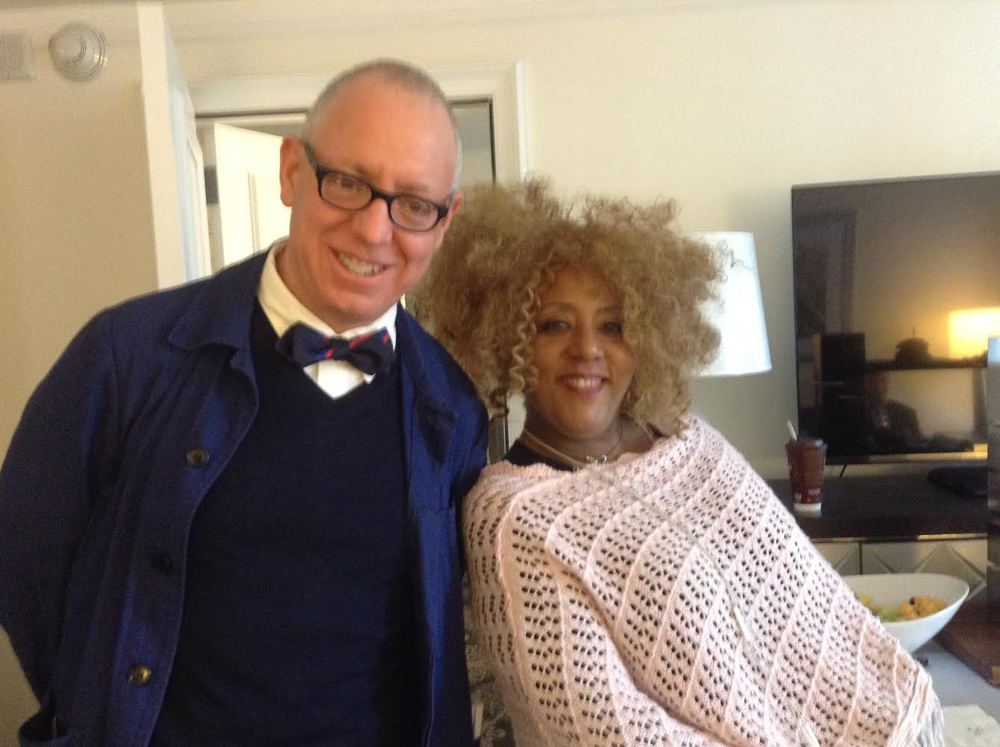 James Schamus (L) with Lapacazo Sandoval (R)