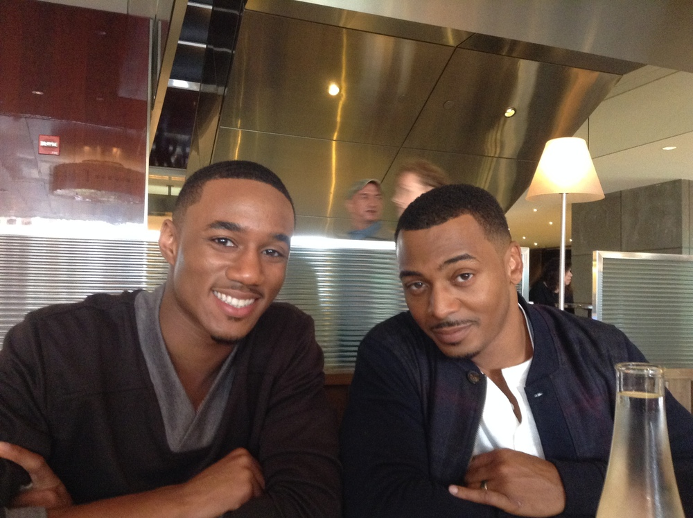 Jessie Usher (L) & Ronreaco Lee (R)