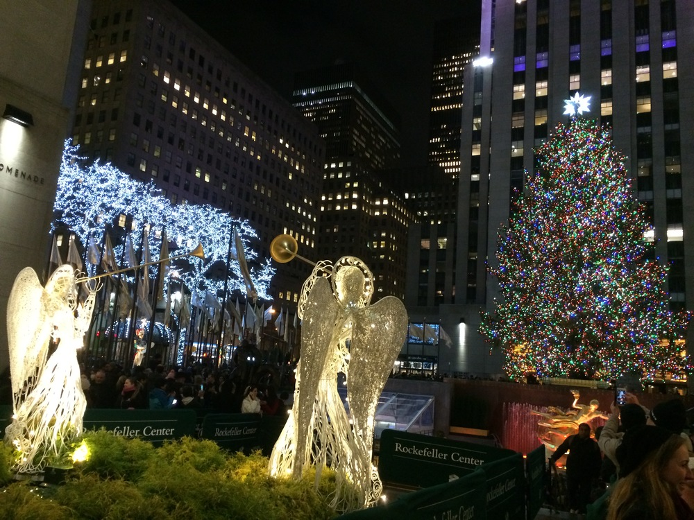 From rockefeller & christmas tree