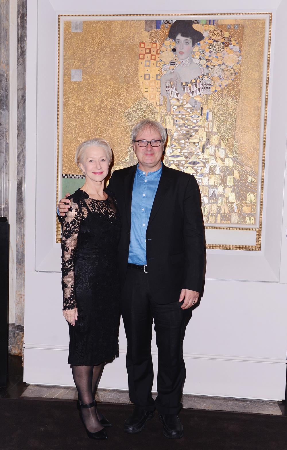 Helen Mirren and director Simon Curtis