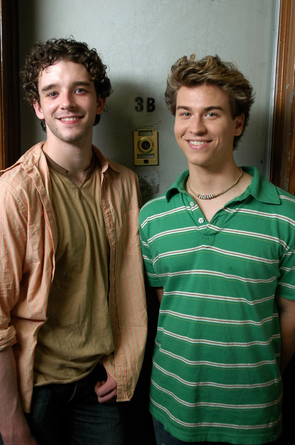 Michael Urie and Jay Gillespie. Photo by John Langford. Courtesy of Brian Sloan.