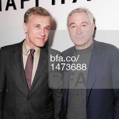 Christoph Waltz, Robert De Niro.