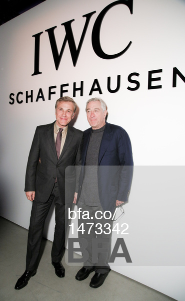 Christoph Waltz, Robert De Niro