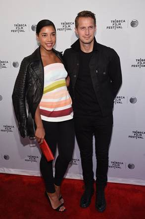 NEW YORK, NY - APRIL 22: Hannah Bronfman and Brendan Fallis attend the Tribeca Film Festival New York Premiere Of Misery Loves Comedy, An American Express Card Member Only Event