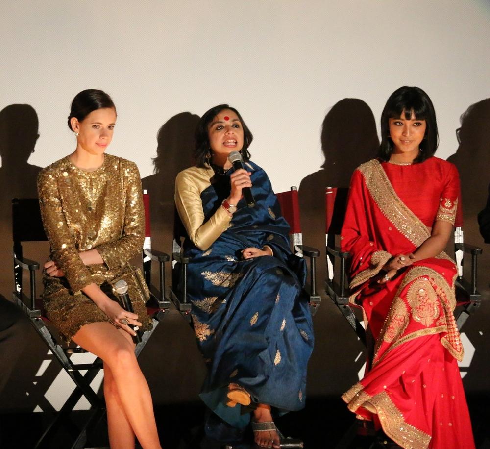 Kalki Koechelin, Shonali Bose and Sayani Gupta (L-R)