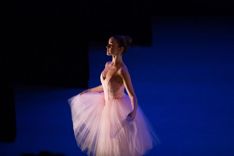 our special waltz, choreographed by Stacy Caddell, photo by Rosalie O'Connor
