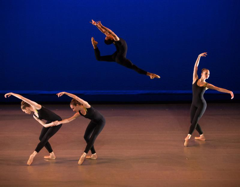 NOW THEN, choreographed by Lisa de Ribere, photo by Rosalie O'Connor