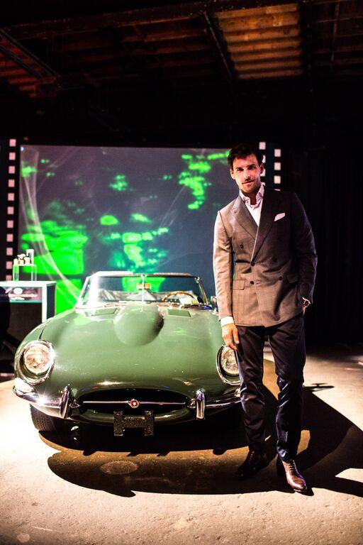 Johannes Huebl, Jaguar XKE