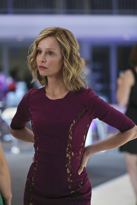 Still of Calista Flockhart in Supergirl
