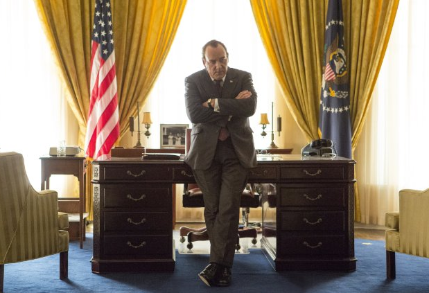 Still of Kevin Spacey in Elvis & Nixon (2016)