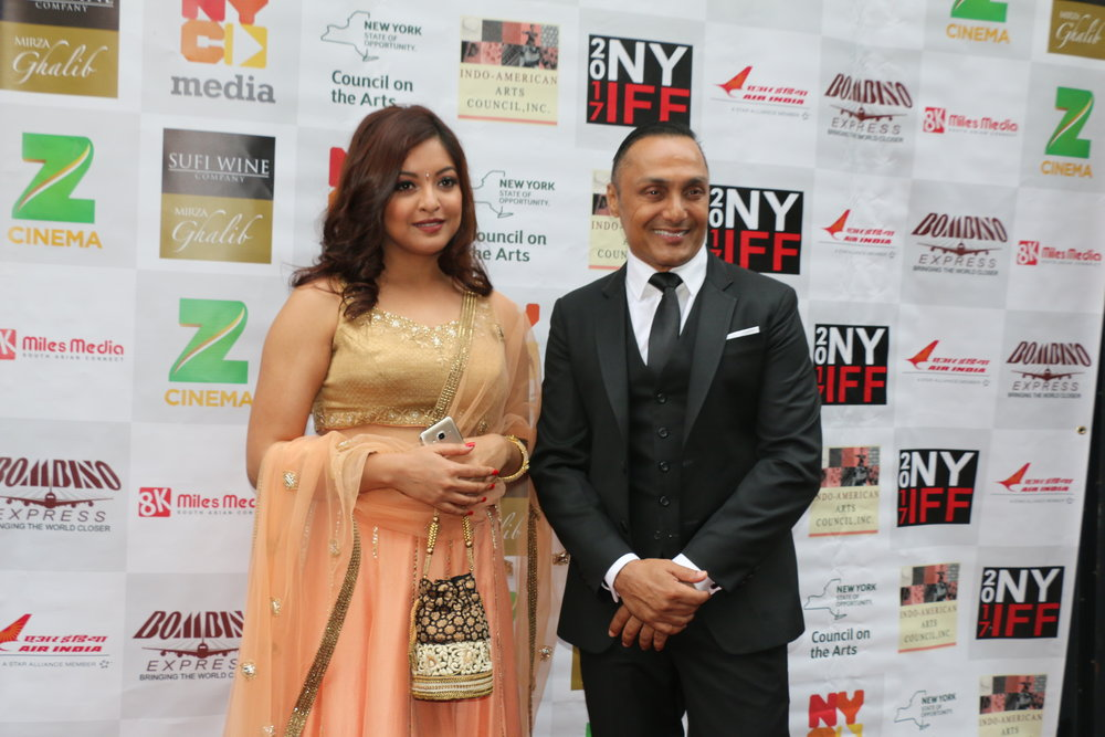 Tanushree Dutta (Ex Miss India), with Rahul Bose