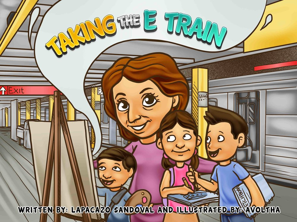 TAKING THE E TRAIN by Lapacazo Sandoval. Alvotha, a Design Studio in Mexico.jpeg