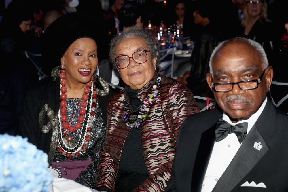 Sherri Brewer, Marian Wright Edelman and U.W. Clemon attend the NAACP LDF 32nd National Equal Justice Awards Dinner at The Ziegfeld Ballroom on November 1, 2018 in New York City. (Photo by Johnny Nunez/Getty Images for NAACP LDF)