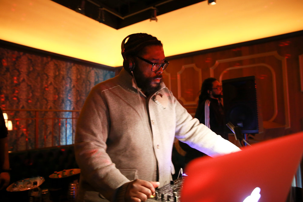"DJ Questlove performs during the ""Growing Up Hip Hop"" season 4 party on December 4, 2018 at Avenue in New York City. (Photo by Bennett Raglin/Getty Images for WE tv)"