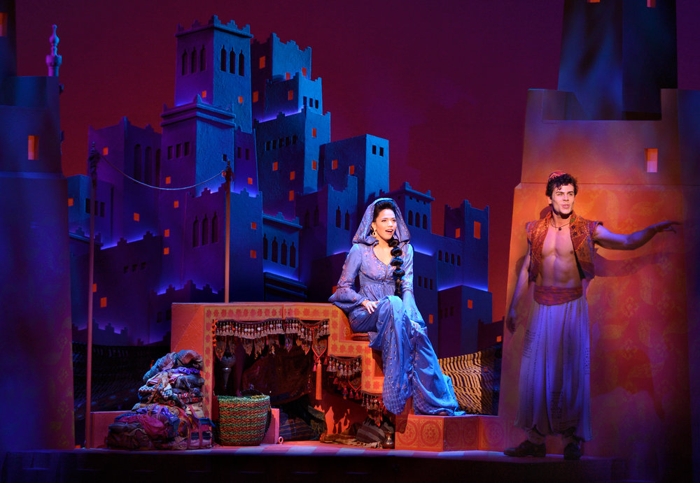 Aladdin & Jasmine - Ainsley Melham and Arielle Jacobs_Photo By Deen van Meer.jpg