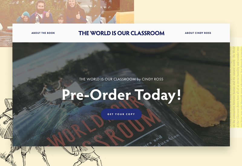 The World Is Our Classroom - Book by Cindy Ross