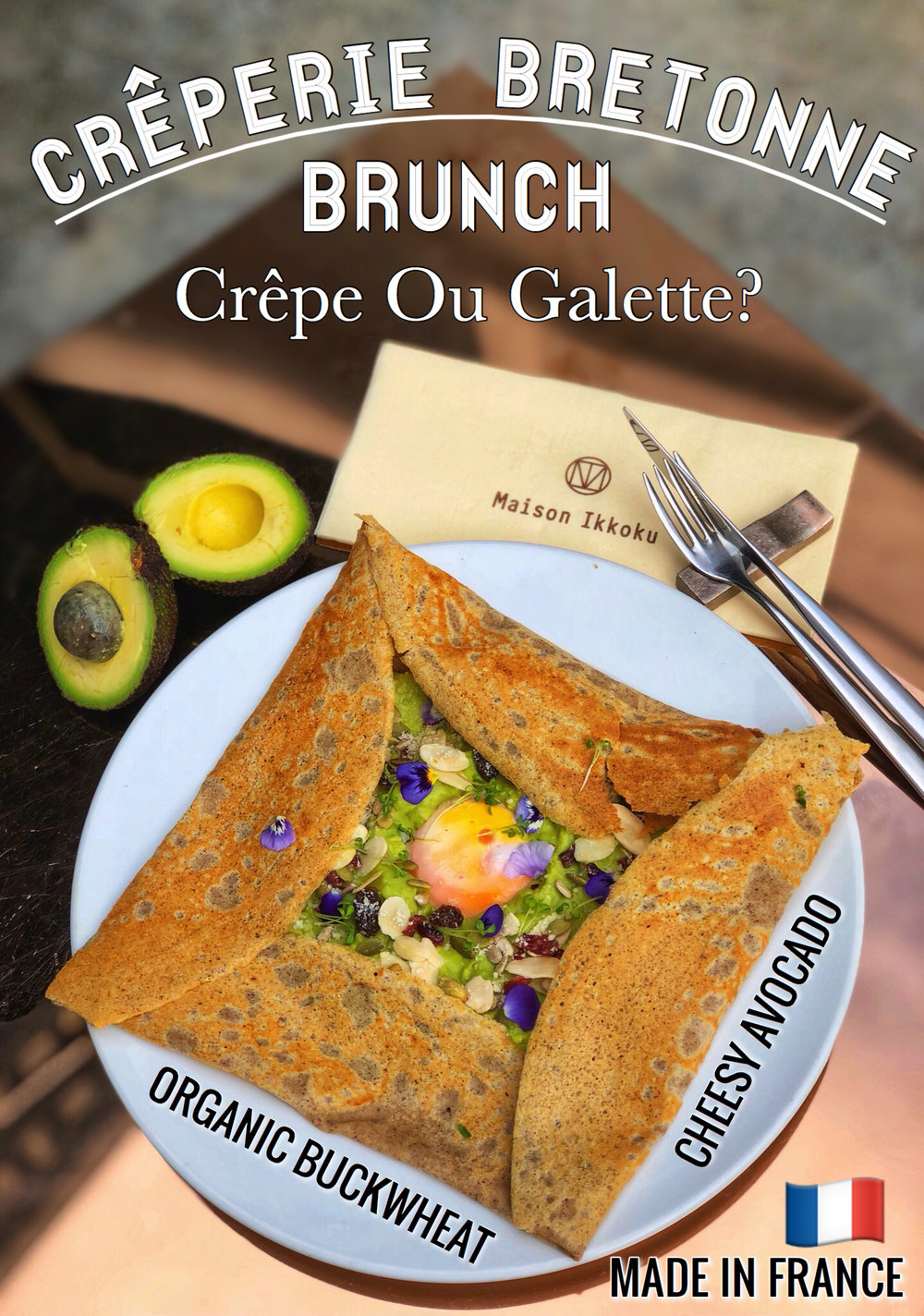 Voted Best Crepes &Best Galettes In Town! - Crepes Brunch Every Saturday, Sunday, Public Holiday