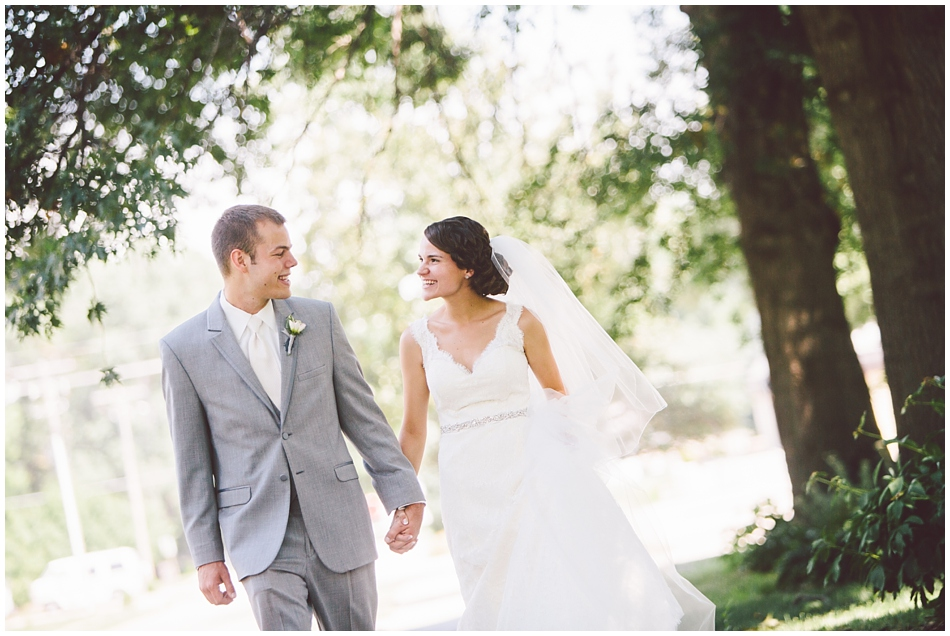 July wedding in Papillion, Nebraska