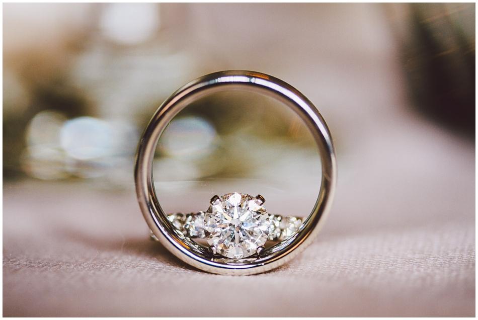 wedding rings, girls wedding ring inside the grooms