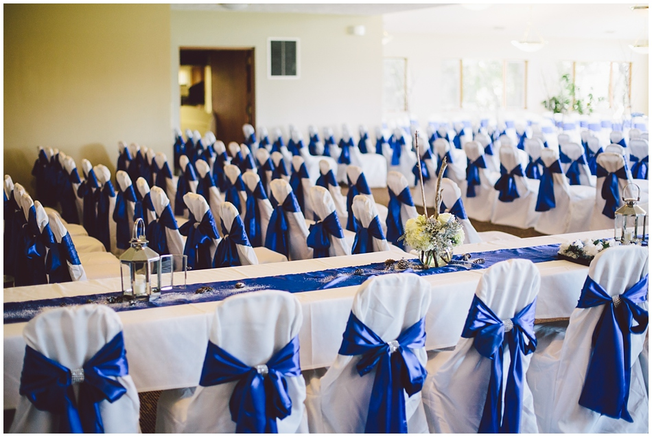Ashland Golf Club, Nebraska, Wedding setup