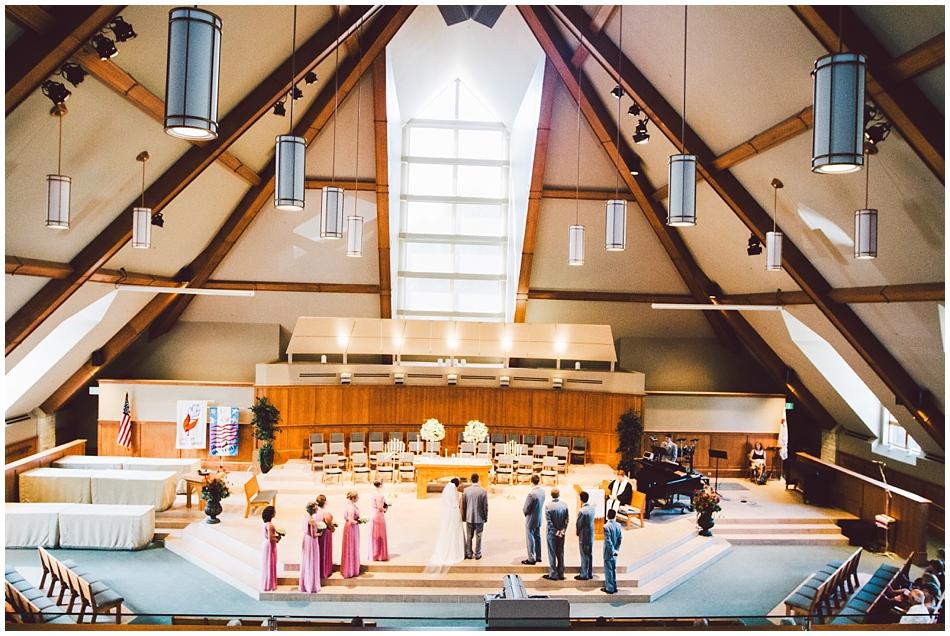 St. Paul's Methodist Church Papillion, June wedding