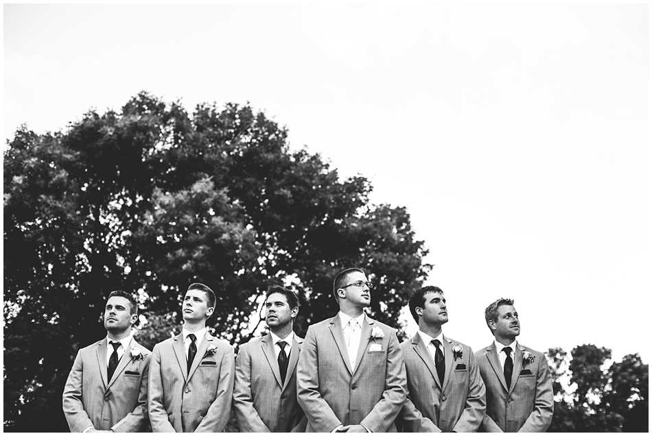 groomsmen black and white