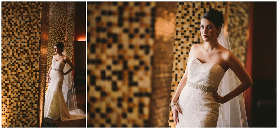 Bride at Magnolia Hotel, Omaha, NE