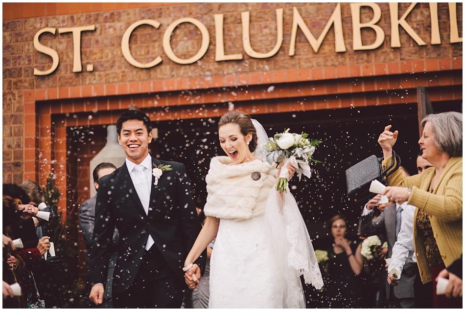 Omaha wedding photographer, st. columbkille, omaha