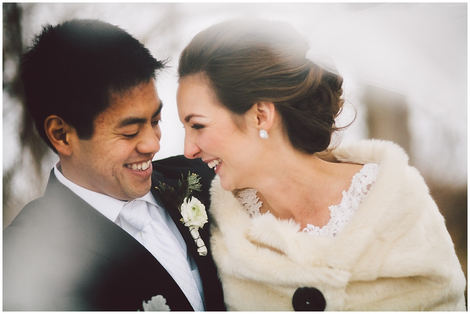 winter wedding omaha photographer