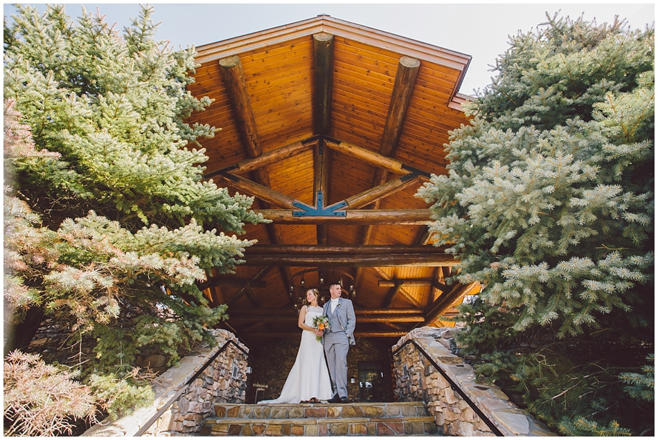 Rustic wedding at Wilderness Ridge, Lincoln, NE