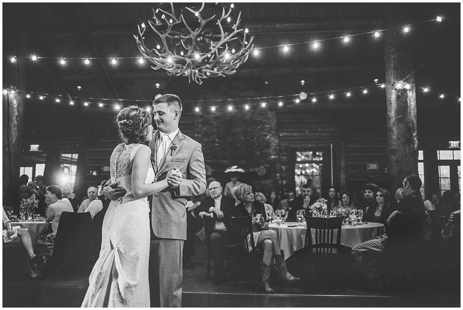 First dance at Wilderness Ridge, Lincoln, NE