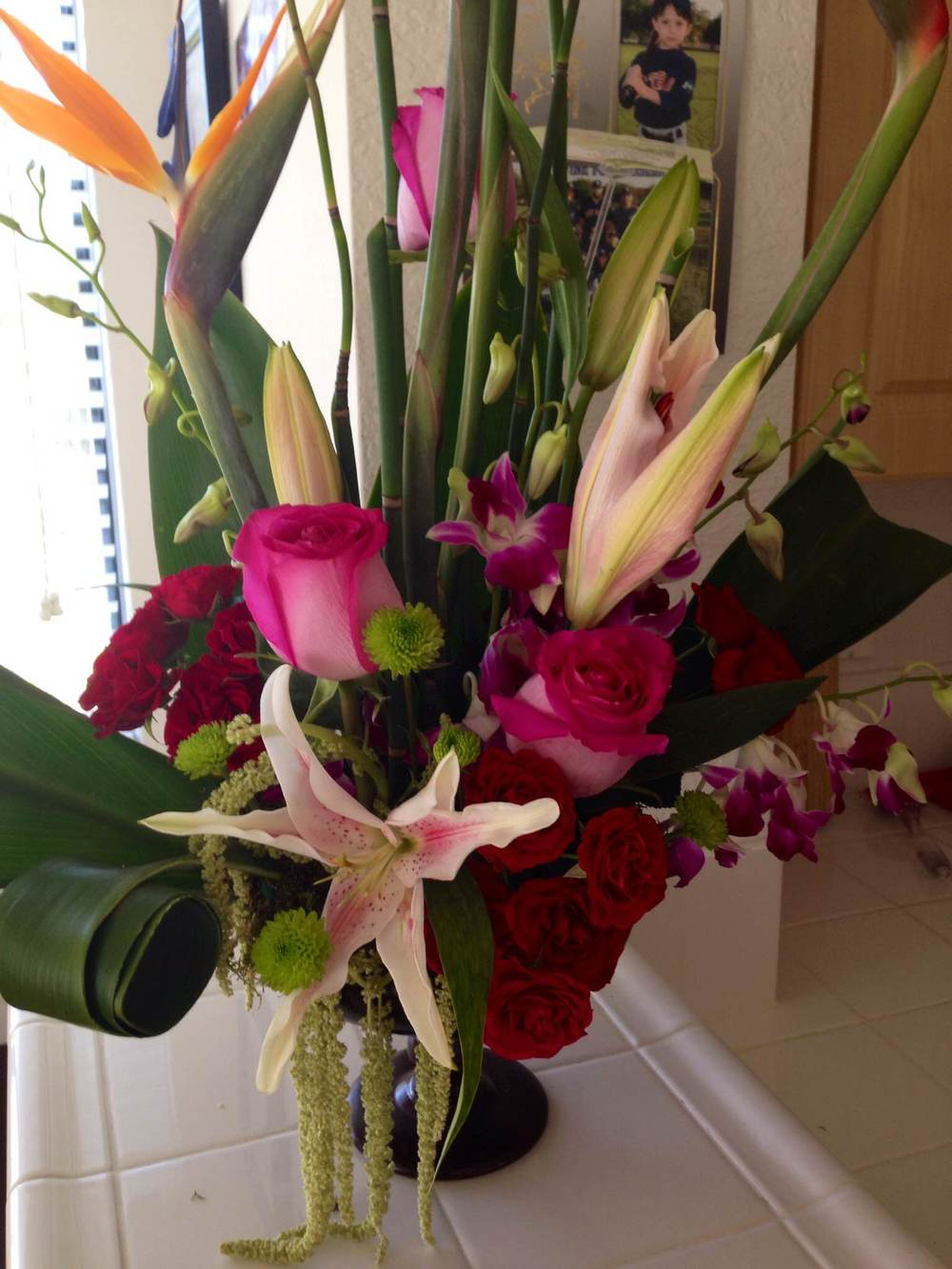 Just gorgeous. Such a thoughtful and kind surprise.
