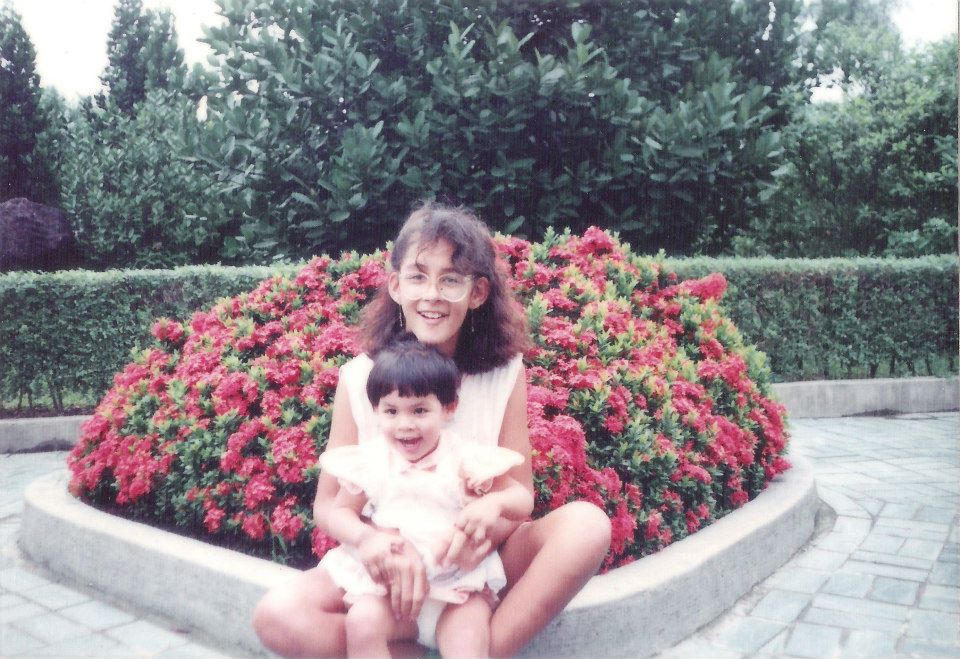 The last time I was in Taiwan. Here I am pictured with my big sister.