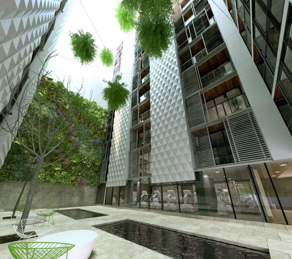 108 flinders street atrium