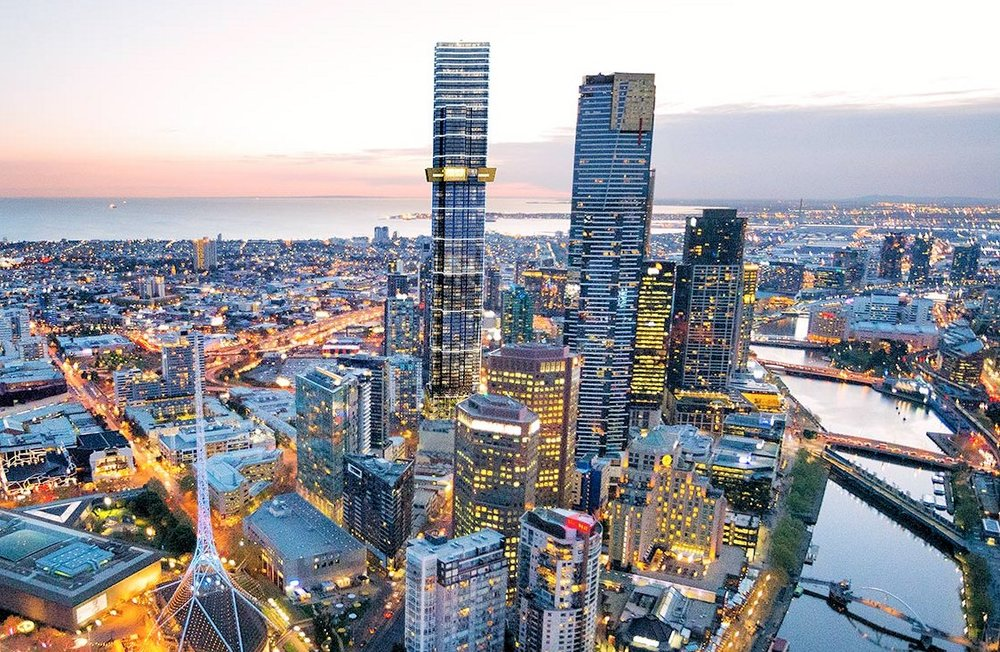 Australia 108, Melbourne