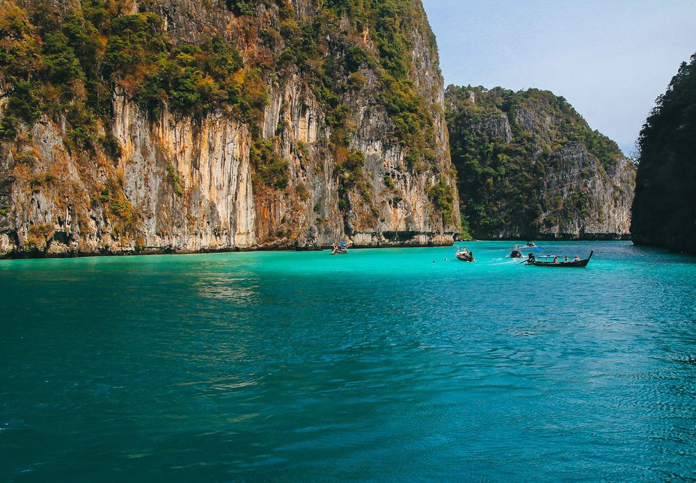 Monkey Bay – Phi Phi Island, Thailand
