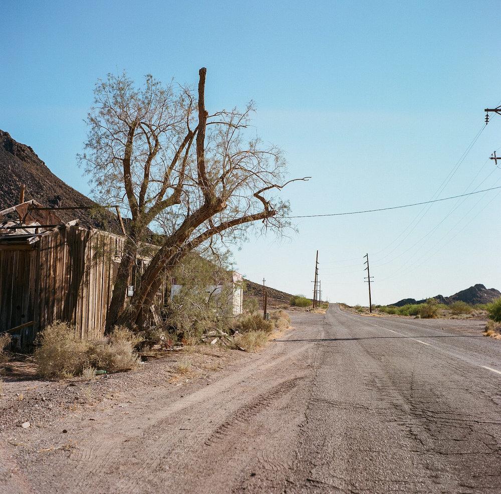 Ghost town, Hyder, AZ