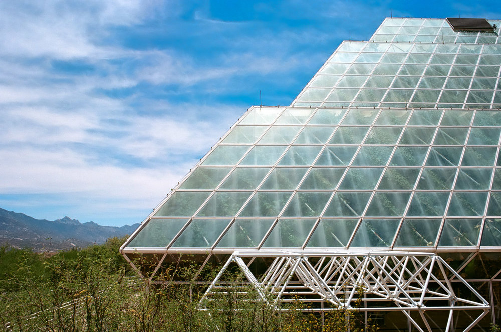 Biosphere II, Research Facility,  Oracle, Arizona.