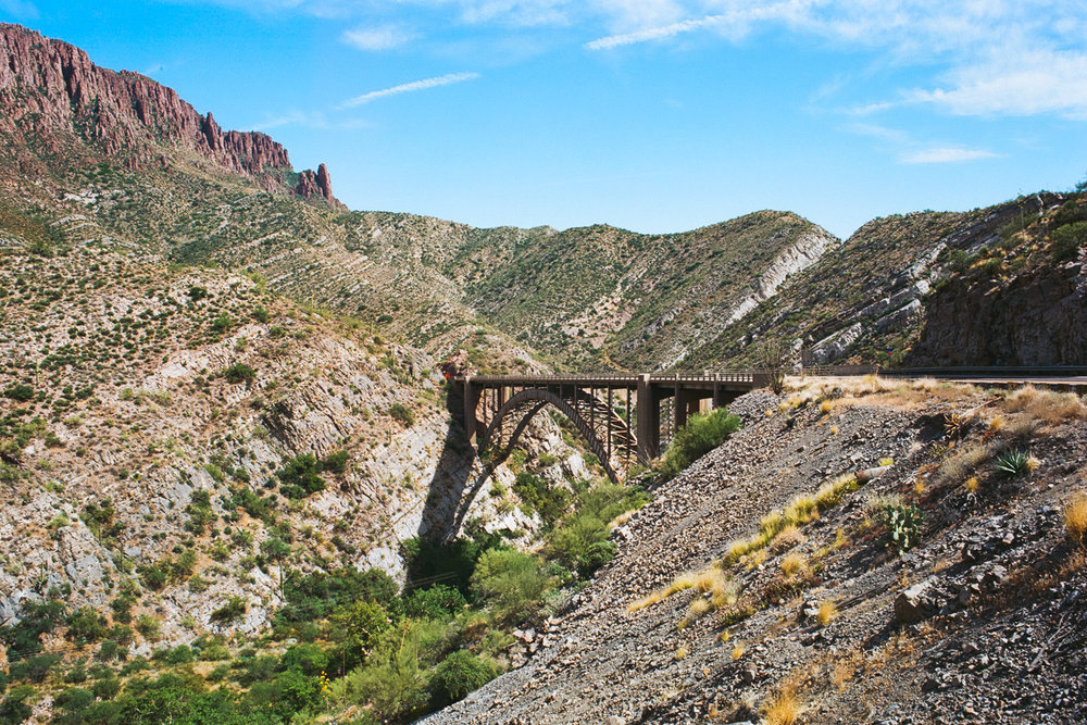 Queen Creek Bridge, Superior, AZ