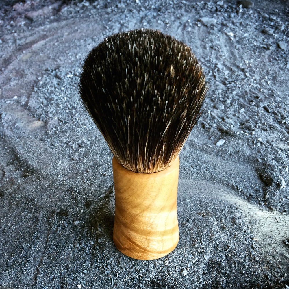 These handmade shaving brushes look and feel incredible!