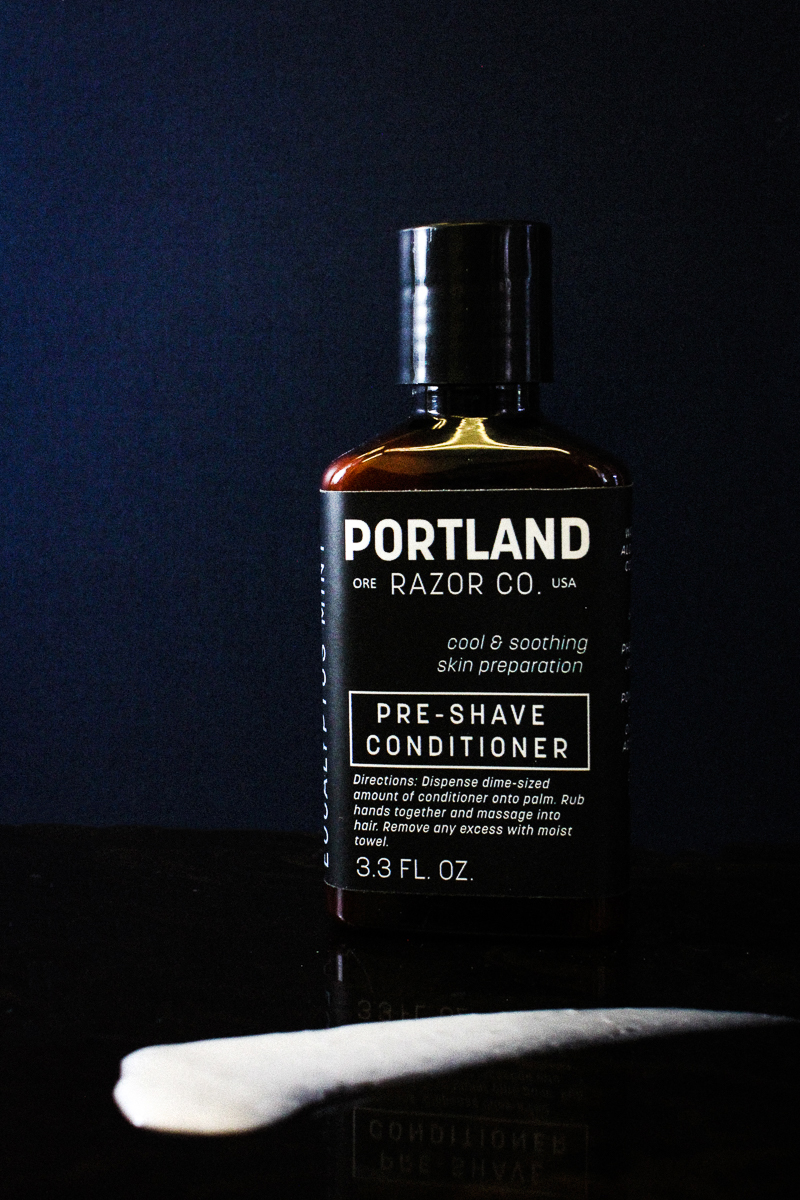 portland razor co pre shave conditioner