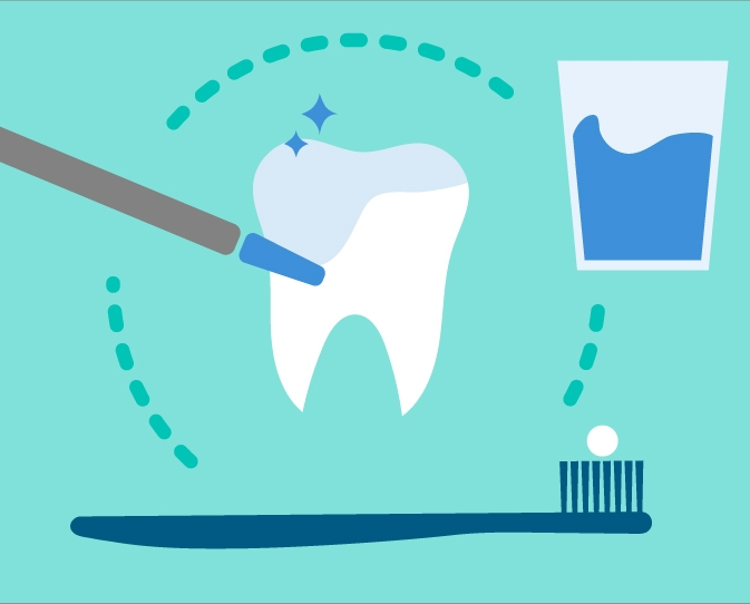 Fluoride can be found in tap water and toothpaste