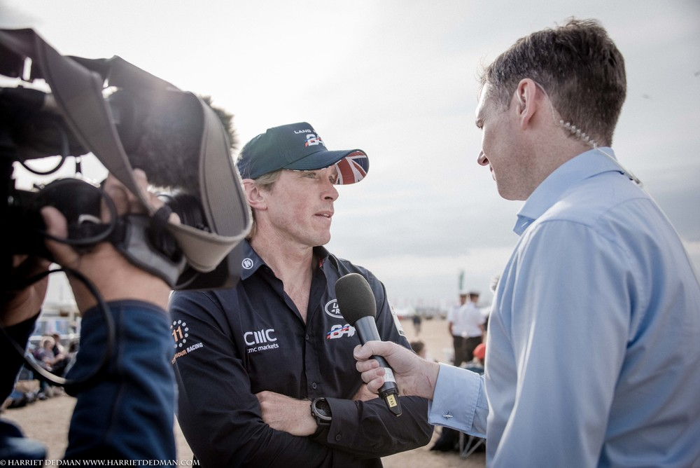 Landrover BAR team member, Matthew Cornwell, talks to the BBC's Tony Husband.